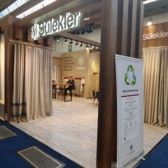 """We participated in the """"Heimtextile"""" Fair held in Frankfurt / Germany between 07-10 January 2020."""