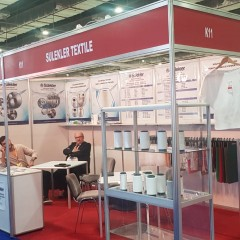 """We participated in the """"65th Cairo Fashion Tex"""" Fair held in Cairo / Egypt between 10-12 October 2019."""